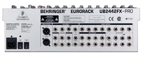 Mixer Behringer Eurorack Ub2442fx Pro behringer eurorack ub2442fx pro image 38274 audiofanzine