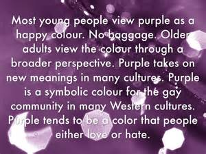 color purple book meaning colour meanings