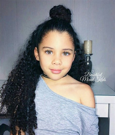 latest hairstyles for teenager for mixed celina 5 years german cape verdean beautiful mixed
