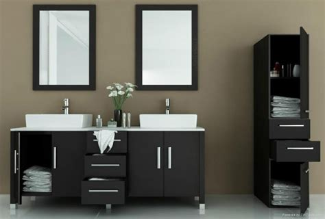 fashion mirrored design stylish mdf bathroom cabinet