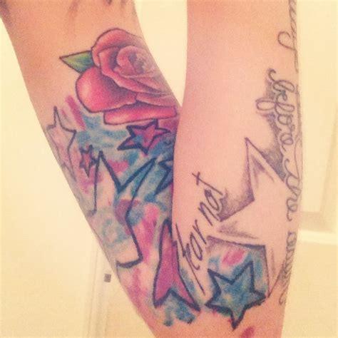 tie dye tattoo watercolor tattoos yo