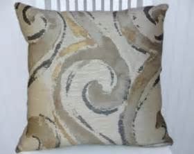 popular items for grey brown pillow on etsy
