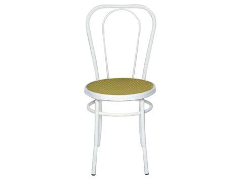 chaise bistro coloris blanc vente de chaise conforama