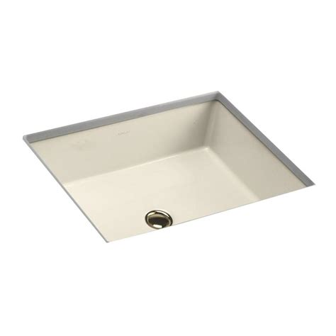 kohler verticyl vitreous china undermount bathroom sink