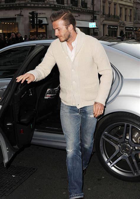 Style Beckham Fabsugar Want Need 8 by David Beckham Cardigan David Beckham Clothes Looks