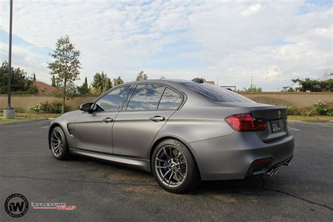 Matte Grey Bmw M3 Looks Dashing