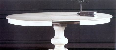 tavolo rotondo allungabile tavolo rotondo allungabile in legno di noce e faggio cm