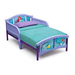 little kids beds delta children disney little mermaid toddler bed baby