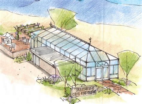 green house cafe pug in the future project urban greenhouse