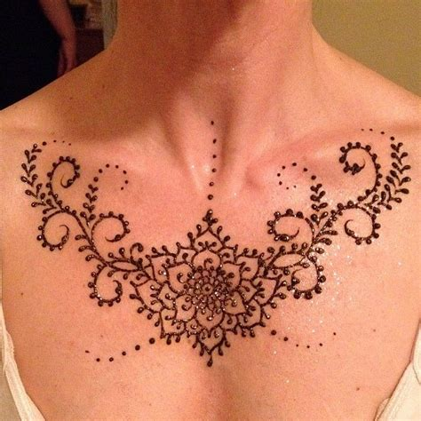henna tattoos under breast henna chest www pixshark images galleries