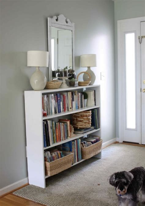 entryway bookcase home updates bookcase bling