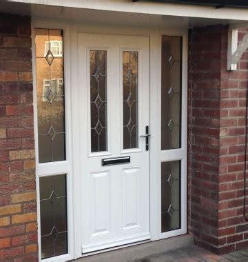 how to fit a composite front door composite upvc entrance doors in k glazing