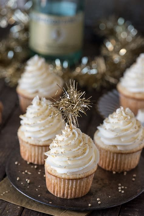 new year cupcake recipe chagne cupcakes the year