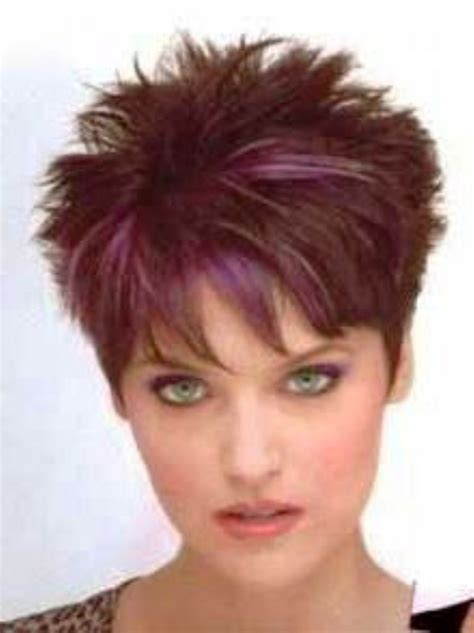 Spiky Haircuts For | very short spiky hairstyles for women over 60 short