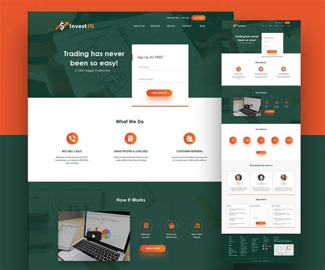 Trading Website Template Free Psd Download Download Psd Psd Website Templates Free 2017