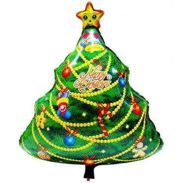 Balon Foil Bunga balon foil pohon natal pestaseru toko grosir