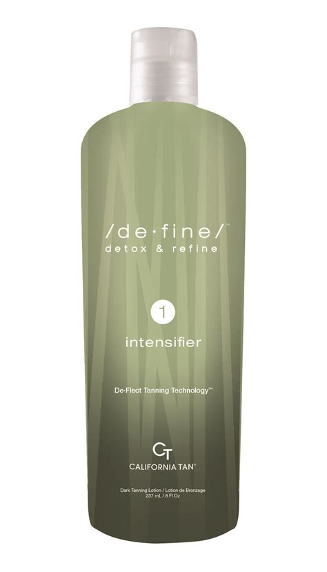 Define Detox And Refine Tanning Lotion by California Catalog