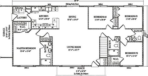 Split Level Ranch House Plans Roosevelt Iv By Wardcraft Homes Ranch Floorplan