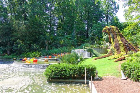 Atlanta Botanic Gardens Chihuly In The Garden Atlanta Botanical Gardens Plain Chicken