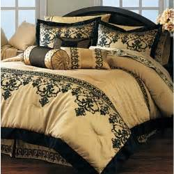 black gold comforter black and gold bedding sets for adding luxurious bedroom