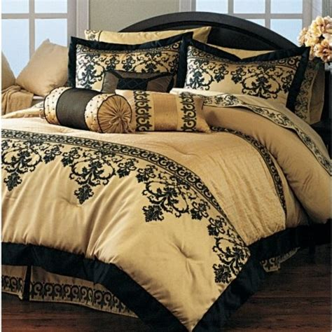 Black And Gold Bedding Sets Black And Gold Comforter 28 Images Black And Gold
