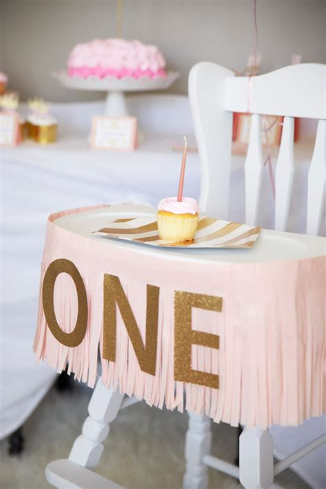 first birthday printable high chair banner one birthday banner fringe highchair banner