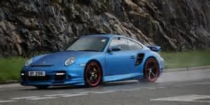 Porsche 911 Matte Matte Blue Porsche 911 Turbo Madwhips