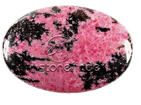 gemstone pink gems rhodonite lucky gem gem natura