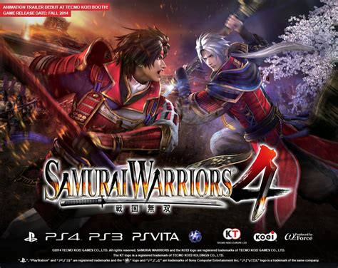 Ps4 Warriors All R3 Reg 3 Playstation 4 samurai warriors 4 is battling west this fall on ps3 vita and ps4 niche gamer