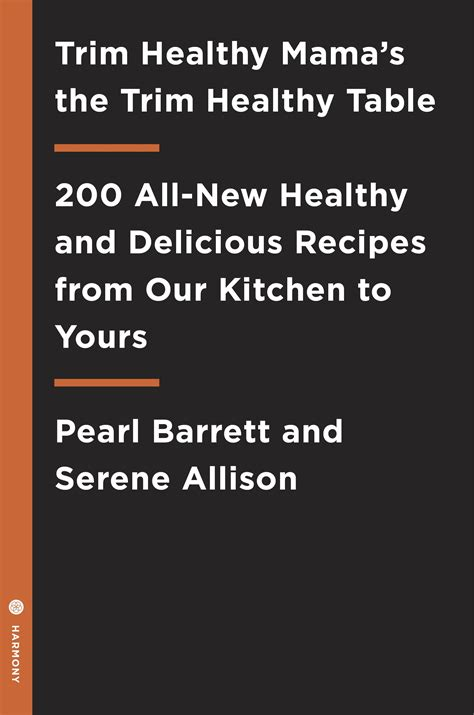 Pdf Trim Healthy Pearl Barrett by Trim Healthy S Trim Healthy Table By Pearl Barrett