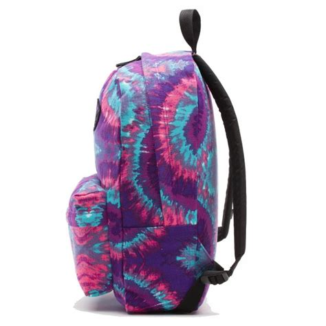 vans realm backpack tie dye pink vans from resurrection uk