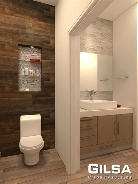 cuarto de bano estilo contemporaneo materiales