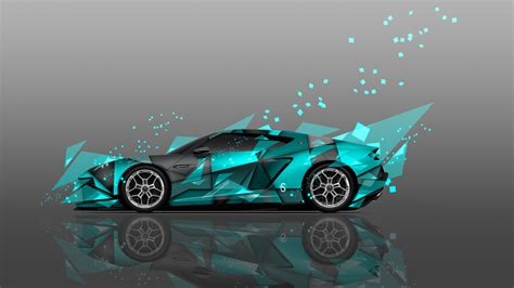 wallpaper abstract car 4k lamborghini asterion side abstract aerography car 2014