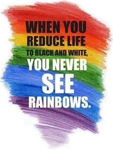 quote about color 44 best images about rainbow inspirational quotes on