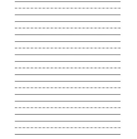 printable writing paper kindergarten free printable kindergarten writing paper worksheets