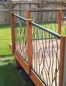 Design For Metal Deck Railings Ideas 20 Creative Deck Railing Ideas For Inspiration Hative