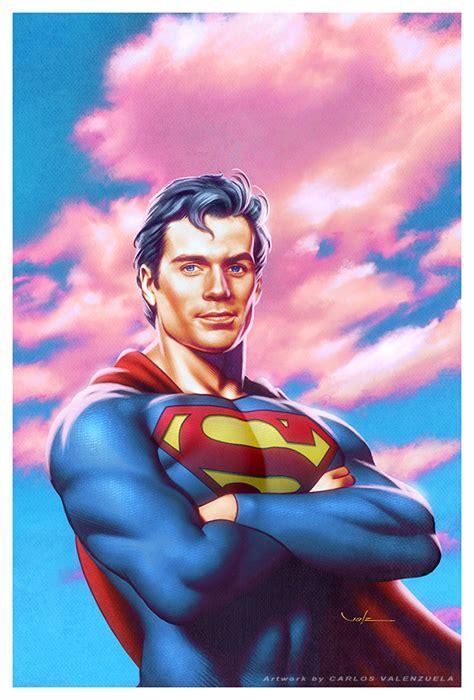 superman painting free of steel by valzonline on deviantart