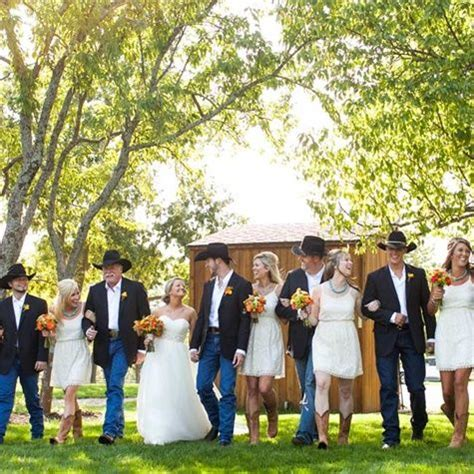 country style wedding suits really idea don t like the white on the bridesmaids
