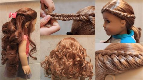 hairstyles for american girl dolls with long hair cute doll hairstyles hair