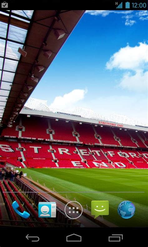 wallpaper iphone 5 old trafford man utd live wallpaper android apps on google play