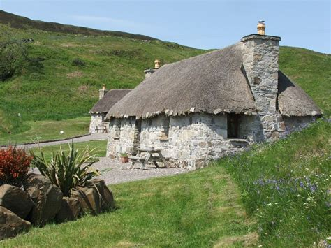 Cottages Scotland by Built Thatched Hebridean Cottages On Vrbo