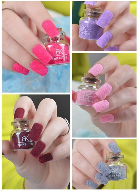 nail polish colors for professional women fashion women velvet fiber nail polish professional