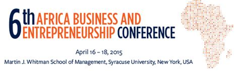Whitman Mba Industry by Whitman School Of Management Hosts 6th Annual Conference