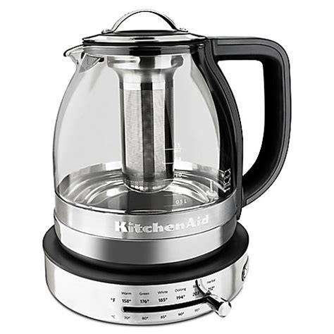 bed bath and beyond kettle kitchenaid 174 glass tea kettle bed bath beyond