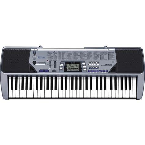 Baru Keyboard Casio Ctk 496 casio ctk 496 61 key portable keyboard music123