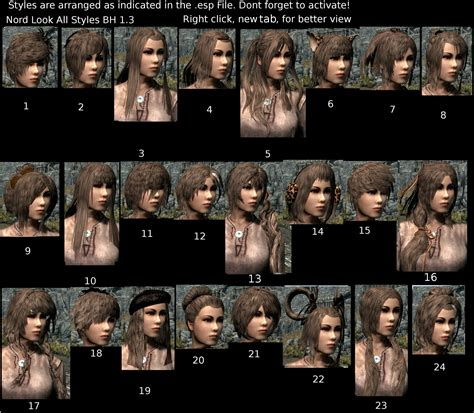 beautiful hair skyrim beautiful hair retexture at skyrim nexus mods and community