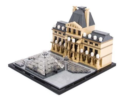 Lego 21024 Louvre Architecture lego architecture louvre 21024 pley buy or rent the