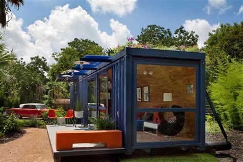 Shipping Container Guest House by Container Guest House By Jim Poteet Interior Design