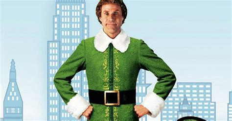 will ferrell elf costume the project diary buddy the elf costume