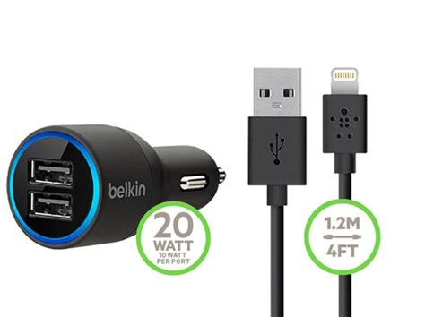belkin dual port fast charging car end 12 14 2017 4 33 pm